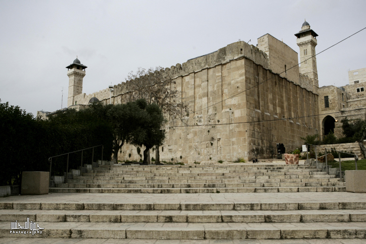 A general view shows the Ibrahimi mosque or the Tomb of the Patriarchs, in the West Bank town of Hebron .on Feb 24 , 2010. .photo by Abir Sultan/Flash 90